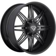 DPR AK-47 Matte Black Milled Wheels
