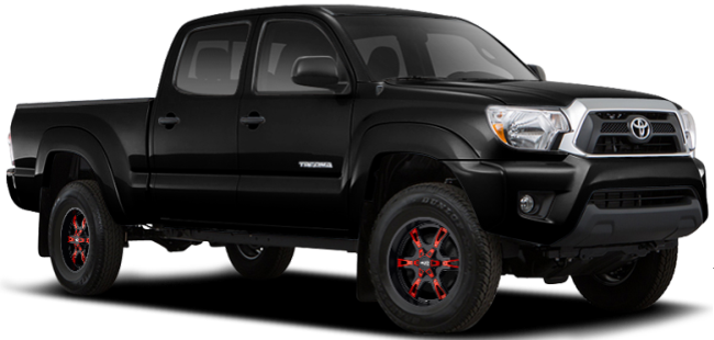 Toyota Tacoma Prerunner on Moto Metal MO969 Black