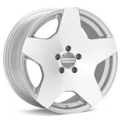 Achtung DM11 Silver Machined Wheels