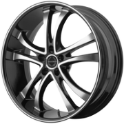 Asanti ABL-6 Black Machined Wheels