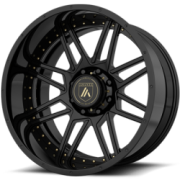 Asanti Offroad AB-201 Black Wheels