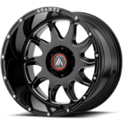 Asanti Offroad AB-810 Black Wheels
