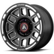 Asanti Offroad AB-812 Satin Black Milled Wheels