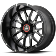 Asanti Offroad AB-807 Black Wheels