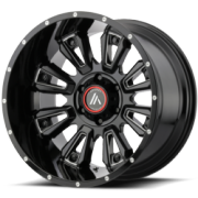 Asanti Offroad AB-808 Black Wheels