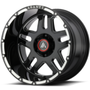 Asanti Offroad AB-809 Black Wheels