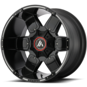 Asanti Offroad AB-811 Black Wheels