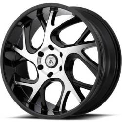 Asanti ABL-16 Machined Gloss Black Wheels
