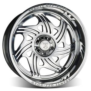 Asanti AB102 8x170 Forged Polished Wheels