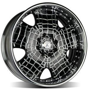 Asanti AF1128x165.1 Black Crocodile Wheels