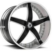 Asanti DA166 Black Wheels