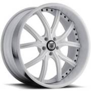 Asanti DA191 White Wheels