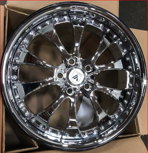 Asanti DDS2 Chrome Wheels
