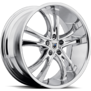 Asanti ABL-6 Chrome Wheels