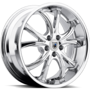 Asanti ABL-8 Chrome Wheels