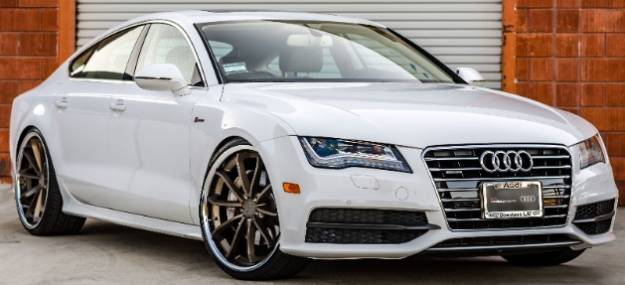 2013 Audi A7 on Blaque Diamond BD-23 Bronze Wheels