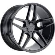 Blaque Diamond BD-17 Gloss Black Wheels