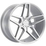 Blaque Diamond BD-17 Silver Machined Wheels