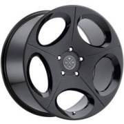 Blaque Diamond BD-77 Satin Black Wheels