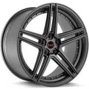 Blaque Diamond BD-6 Matte Graphite Wheels