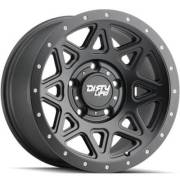 Dirty Life 9305 Theory Matte Black Wheels