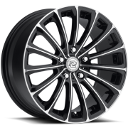 Drag Concepts R20 Black Machined Wheels