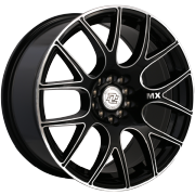 Drag Concepts R21 Gloss Black Milled Wheels