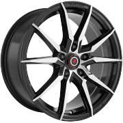 Drag Concepts R30 Black Machined Wheels