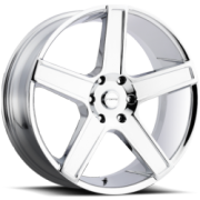 Forte F76 Jesse-One Chrome Wheels