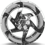 Full Throttle 6052 Dagger Chrome Wheels