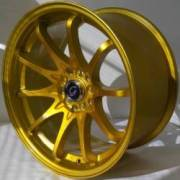 G-Line 1018 Metallic Gold wheels