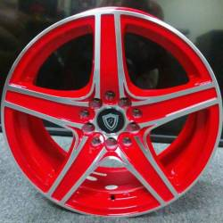 16x7 G-Line G5084 Red Wheels