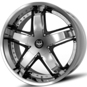 Gianna Rail Chrome Wheels