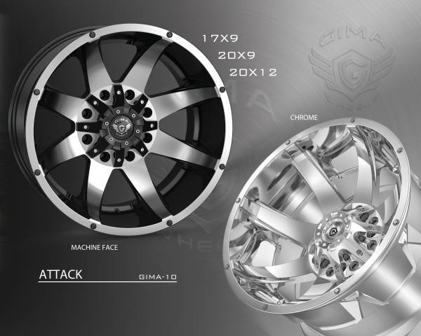 Gima G10 Attack Wheels