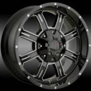 Havoc H101 Black Milled Wheels