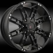 Havoc H103 Flat Black Wheels