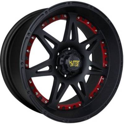Hunter Off-Road HT80 Black with Red Inserts