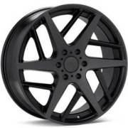 KMC KM699 Two Face<br>Satin Black Wheels