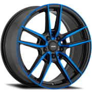 Konig Myth Black and Blue Wheels