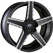 Marquee 3275 Black Machined Wheels