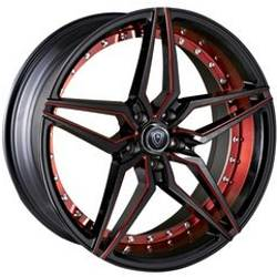Marquee R3259 Black and Red Custom Wheels