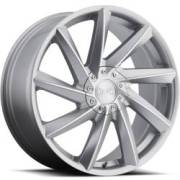 MKW M115 Silver Machined Wheels