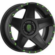 Monster Energy 648B Satin Black Wheels