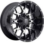 Monster Energy 645MB Machined Black Wheels