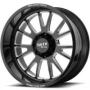 Moto Metal MO401 Gloss Black Milled Wheels