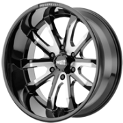 Moto Metal MO983 Black Milled Wheels