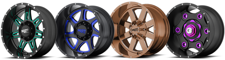 Moto Metal Wheels Available in Custom Colors