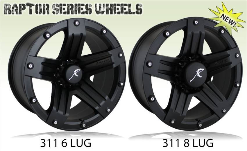 Raptor Series 311 Wheels