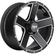 RDR RD07 Riot Black Machined Wheels