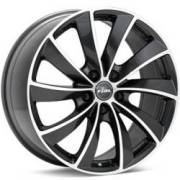 Rial Lugano Machined Gunmetal Wheels